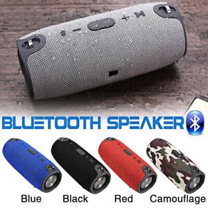 Mini Speaker Outdoor Wireless Stereo Bass Loudspeaker USB Support TF FM Radio