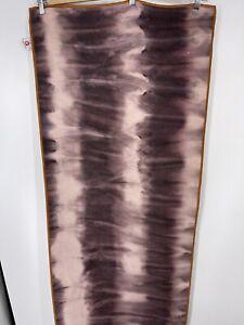"Manduka Yogitoes Skidless Yoga Towel Mat Tie Dye Blue 24"" x 68"" Non Slip"