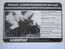 2/1976 PUB SCHERMULY SIMFIRE SOLARTRON ALVIS SALADIN ARTIFICES ORDRE FRENCH AD