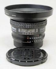 Nikon 20mm F/2.8D Af Nikkor Lens w/Caps and HB-4 Hood - NICE! (2318)