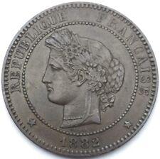 Ceres 10 centimes 1882 A bronze #733