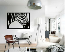 Zebra Wall Stickers Fashion Mural Removable Vinyl Decal Home Office Decor Gift