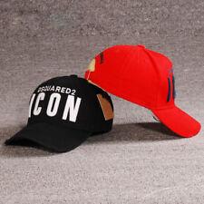DSQ2 ICON NERO NUOVO Cappellino Baseball Cappello UOMO DONNA