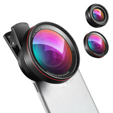 2in1 0.6*Super Wide Angle+0.63*Wide+15*Macro Smart Mobile Phone Camera Lens Kit