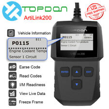 OBD2 OBDII Auto Scanner Code Reader Tool Car Check Engine Fault Diagnostic Tool