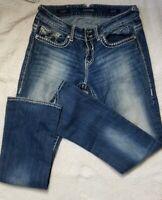 """Women's  Jeans Size 9/10 Vigoss Chelsea Slim Bootcut.  W32 X L 31. 9"""" Rise."""