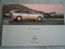 Mercedes C Class Estate brochure May 2000