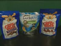 Canine Carry Outs Dog Treats Sausage And Bacon AND Dog DentalLife Dental Care