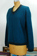 DRIES VAN NOTEN RARE Designer Oversized Belgium Minimal Wool Pull Over Sweater