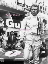 Steve McQueen Le Mans MOVIE Portrait 1971 FOTOGRAFIA 9