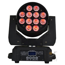 12x10W RGBW 4in1 led washer moving head light disco dj light club party event