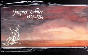 Canada Thematic Collection #23 Jacques Cartier joint issue presentation folder