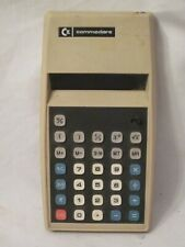 vintage Commodore 899D calculator red LCD display Japan mfg. working