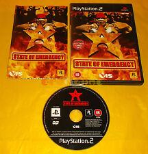 STATE OF EMERGENCY 1 PS2 Versione Ufficiale Italiana 1ª Edizione ○○○○○ COMPLETO