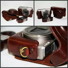 New Vintage Leather Camera case bag for Sony Cyber-shot DSC-HX50 HX50V HX60 HX30