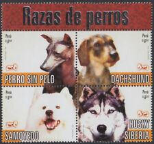 Peru 1623/26 2007 breeds of dogs dog mnh