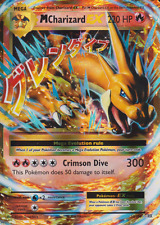 Pokemon Card: Mega M CHARIZARD EX 13/108 XY Evolutions Holo Ultra Rare NM