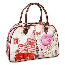 Markenlose geblümte Damentaschen mit zwei Trägern
