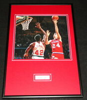 Bobby Jones Signed Framed 12x18 Photo Display 76ers
