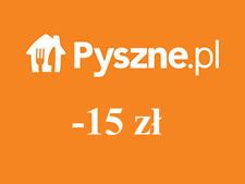 Pyszne.pl Voucher 15 zł Automat