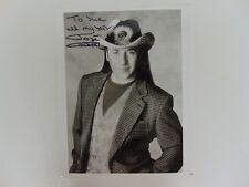 """Hair Stylist to the Stars"" José Eber Signed 8X10 B&W Photo Todd Mueller COA"