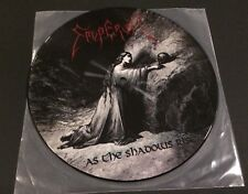 "Emperor - As the Shadows Rise - 7"" Picture Vinyl - RARE - Very Good Condition"