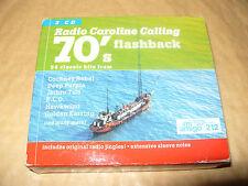 Radio Caroline Calling 70's Flashback (2001) 3 cd Box set 56 tracks