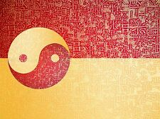 PAINTING DRAWING YIN YANG PHILOSOPHY CHINESE TAOISM ART PRINT POSTER MP3889A