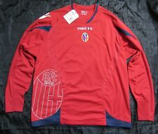 Bologna FC LONG SLEEVE  jersey shirt Macron Rossoblu NEW TAGS adult SIZE XL
