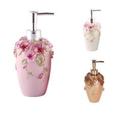 Resin Soap Shampoo Dispenser Bath Liquid Body Lotion Pump Bottle Jar VARIOUS