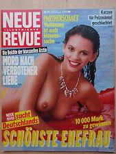 Neue Revue Nr 33/1987, Brigitte Nielsen, Maradona, Angelo Frontoni, Lindenstraße
