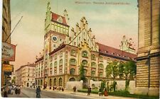 Germany AK Munchen München - Justice Palace old postcard