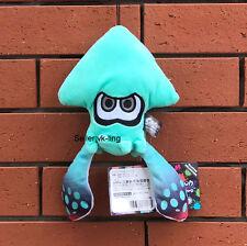 "Nintendo Splatoon Game Plush Toy Turquoise Squid Stuffed Animal Soft Doll 9"""