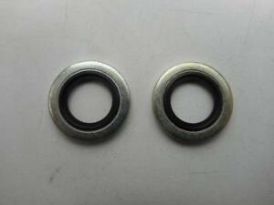 Vincent A27 Dowty Washer Gasket Seals x 2 Self Centering, Oil Feed/Return Banjos