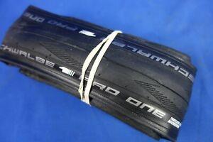 New Schwalbe Pro One Tubeless Ready Microskin Clincher Road Bike Tire- 700 x 25c