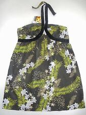 BNWT ROXY LADIES 3 ISLANDS COTTON SUN DRESS (BLACK) SIZE 8 RRP $69.95 LAST ONE