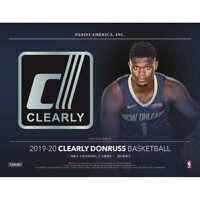 2019-20 PANINI CLEARLY DONRUSS BASKETBALL FACTORY SEALED HOBBY BOX-IN STOCK!