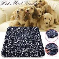 Large Washable Soft Pet Mat Large Dog Bed Soft Cat Mat Plush Warm Cushion