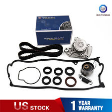 Timing Belt Kit Water Pump Cover Gasket Fit 01-05 Honda Civic VTEC 1.7 D17A