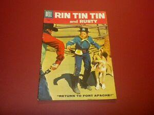 RIN TIN TIN AND RUSTY #25 Dell Comics 1958 TV western