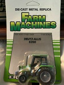 ERTL 1/64 Scale Diecast Deutz- Allis 6260 Tractor 1241