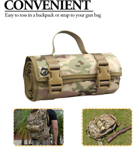 """New Tactical Shooting Mat Camouflage Roll Up Shooters Pad Gun Rifle 79x29.5"""" C"""
