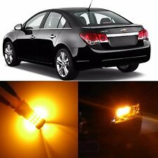 Alla Lighting Front Turn Signal Light 7443 Amber LED Bulb for 14~17 Chevy Impala