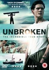 UNBROKEN JACK O'CONNELL DOMHNALL GLEESON ANGELINA JOLIE UNIVERSAL UK RG2 DVD NEW