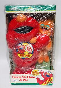 Tickle Me Elmo and Pal Mini Zoe