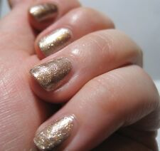 NEW! Sephora by OPI nail vernis polish ALREADY FAMOUS ~ Champagne Gold Pewter