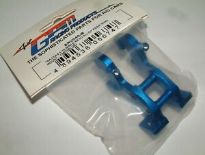 TRAXXAS MINI E-REVO  GPM REAR WING MOUNT BLUE ALUMINUM ERV040