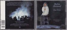 Barbra Streisand - One Voice (CD, Oct-1990, Columbia (USA)) CK 40788 DADC PRESS