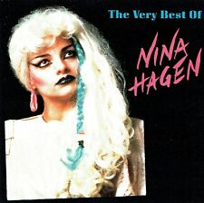 (CD) Nina Hagen - The Very Best Of Nina Hagen - TV-Glotzer, African Reggae,u.a.
