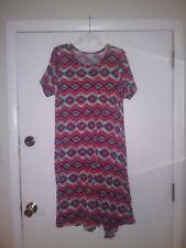 LOT: 4 Soft/Flattering Plus-Size Dresses - Lularoe - Carly - Amelia - XL/2XL EUC